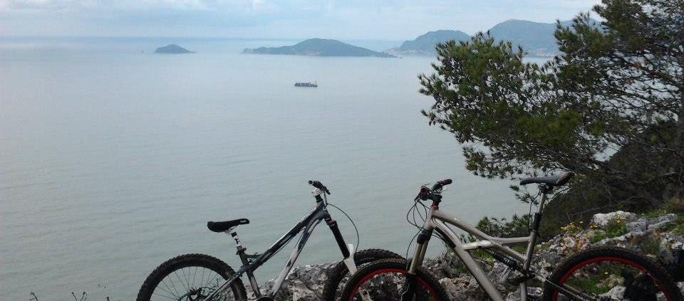 biciclette sul Caprione