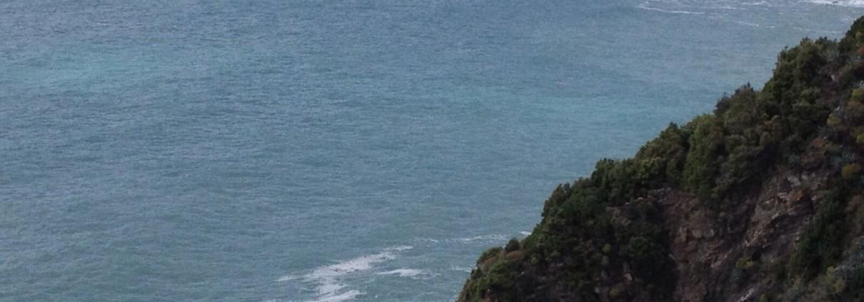 Pedalando lungo il mare