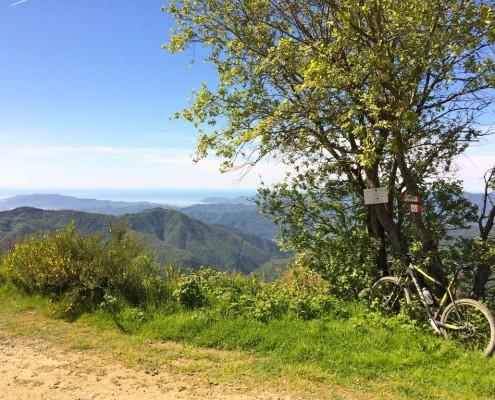 Alta via dei Monti Liguri MTB